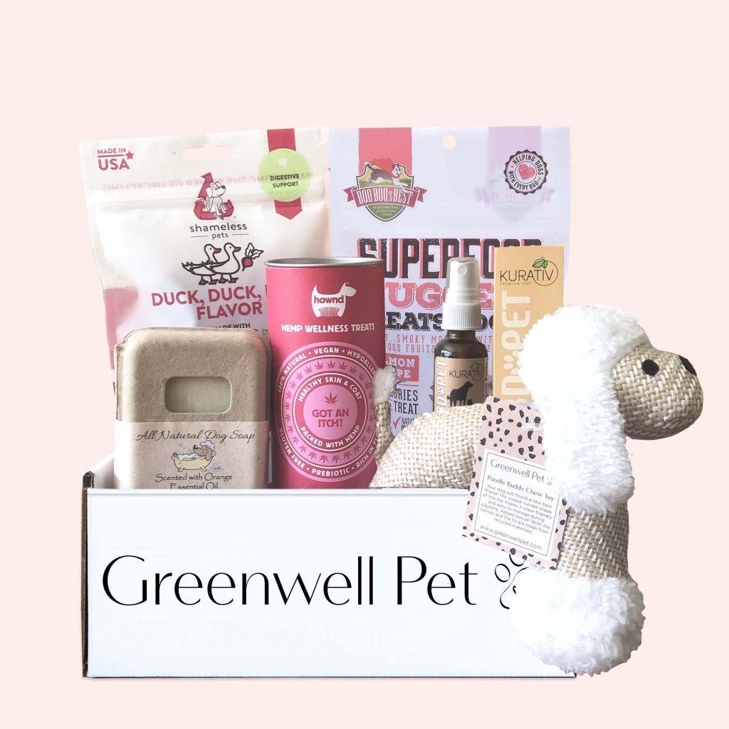 GREENWELL PET BOX, dog subscription box