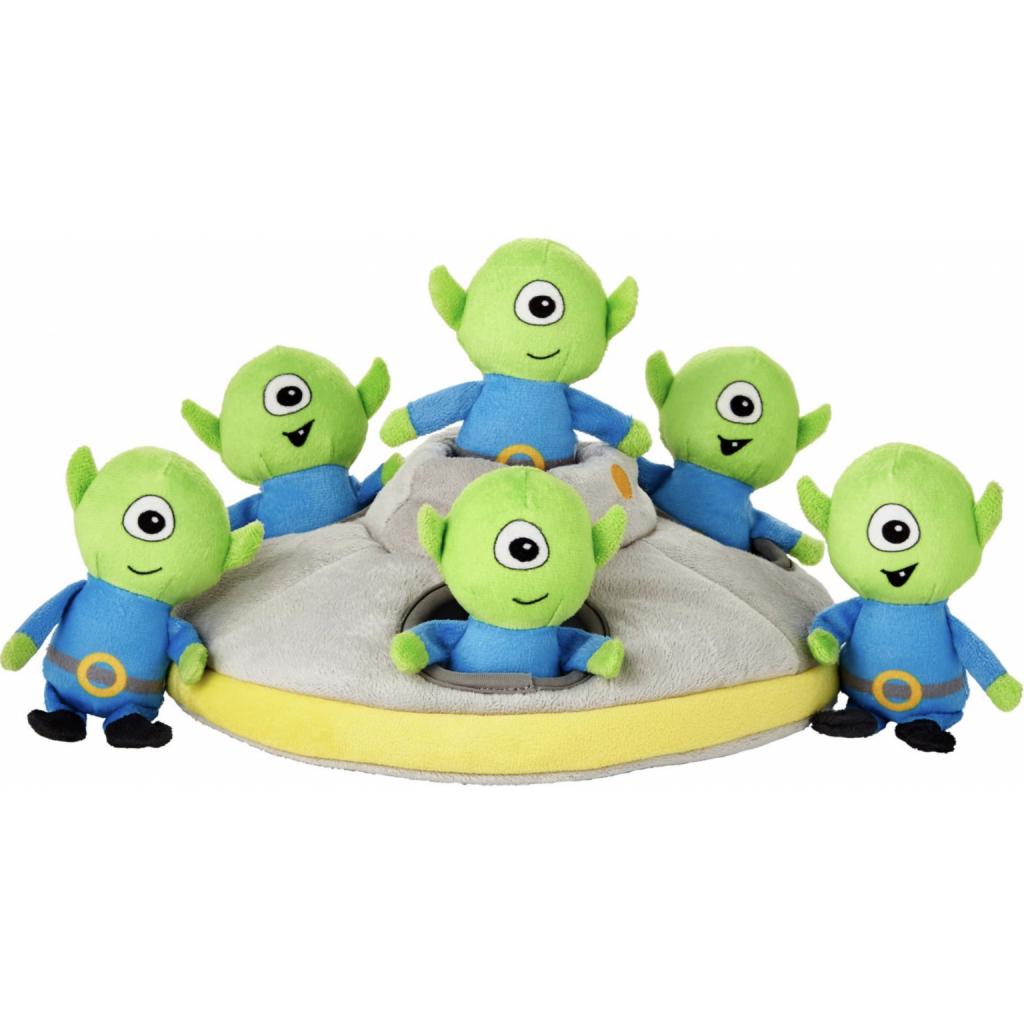Flying Saucer Puzzle Toy via Chewy