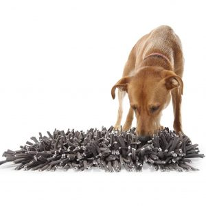 Wooly Snuffle Mat for dogs via Amazon.