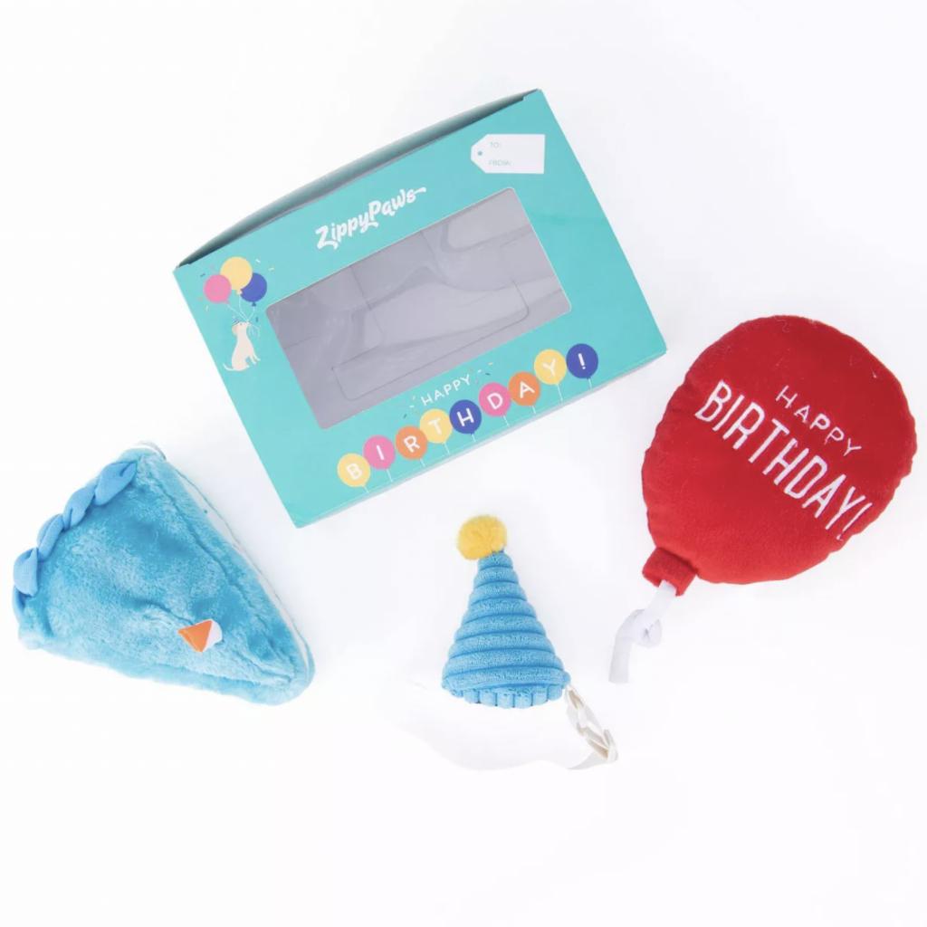 ZIPPYPAWS PUP BIRTHDAY BOX (3-PCE TOY SET) via Target