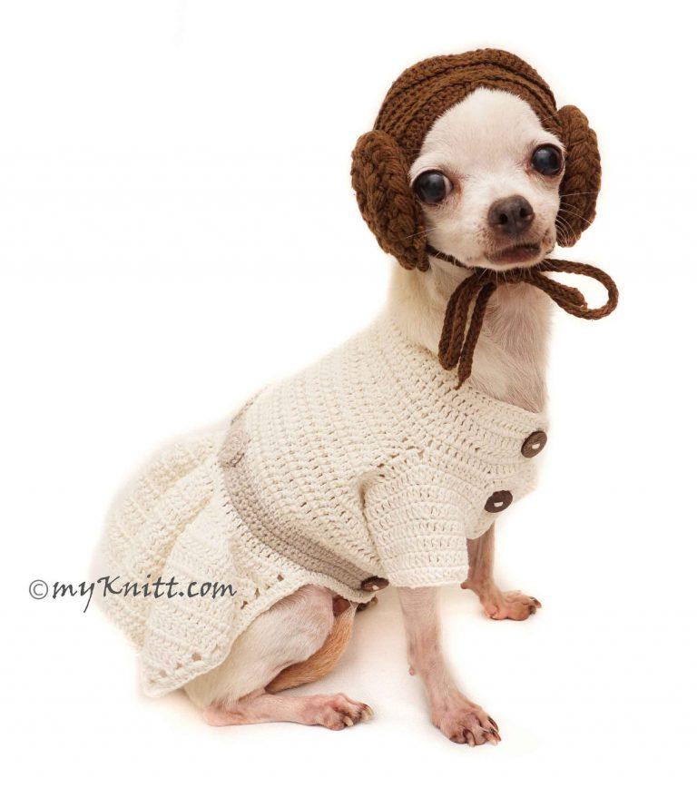 Cosplay Princess Dog Costume via Etsy (My Knitt)