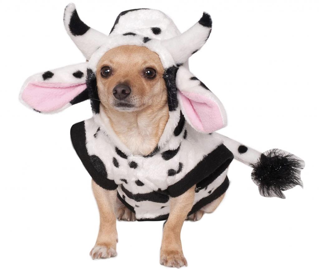 Rubie's Costume Co. Cow Pet Costume via Amazon