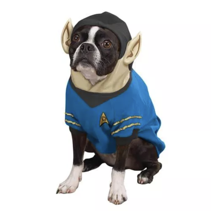 Star Trek Spock Dog Costume via Toynk from Target.