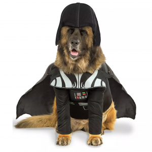 Darth Vader Big Dog Pet Costume via Pure Costumes from Target, Halloween Costumes for Extra Large Dogs.