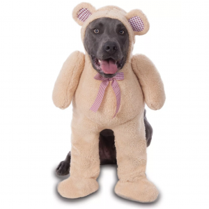 Walking Teddy Bear Big Dog Costume by Rubie's Costume Company via Target, Halloween Costumes for Extra Large Dogs.