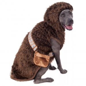Chewbacca Big Dog Pet Costume via Pure Costumes from Target, Halloween Costumes for Extra Large Dogs.