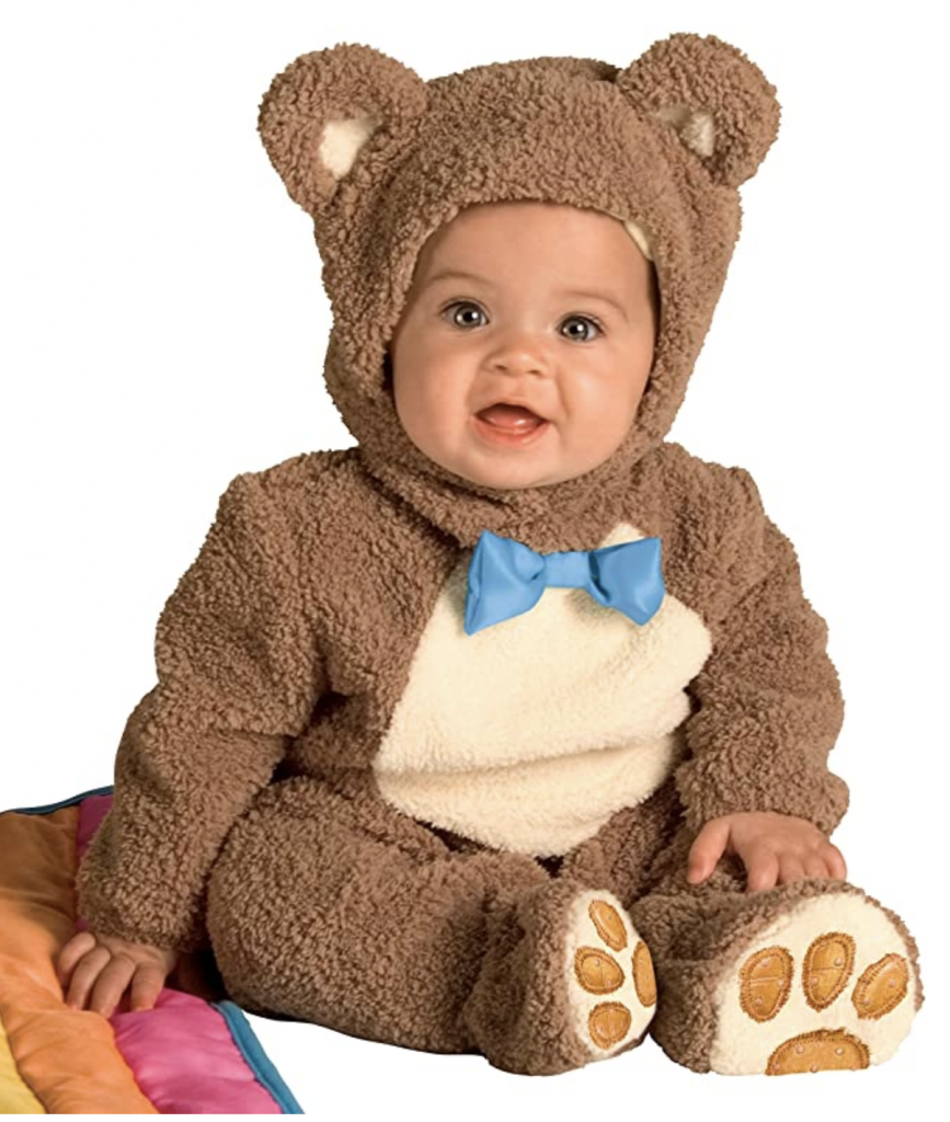 Rubie's Infant Bear Jumpsuit Costume via Amazon