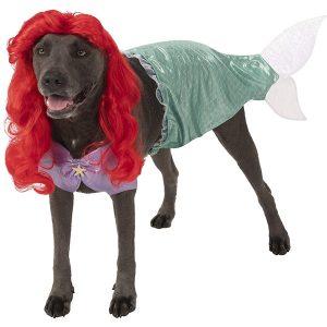 Rubie's Little Mermaid Halloween Costume for Extra Large Dogs via Amazon