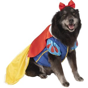 Rubie's Snow White Halloween Costume for Extra Large Dogs via Amazon