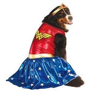 Rubie's Wonder Woman Halloween Costume for Extra Large Dogs via Amazon