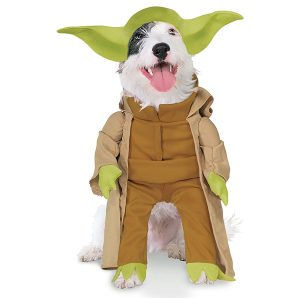 Rubie's Star Wars Yoda Halloween Costume for Extra Large Dogs via Amazon