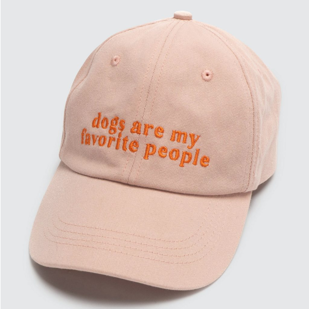 Lucy & Co. Dogs Are My Fave Hat via Verishop