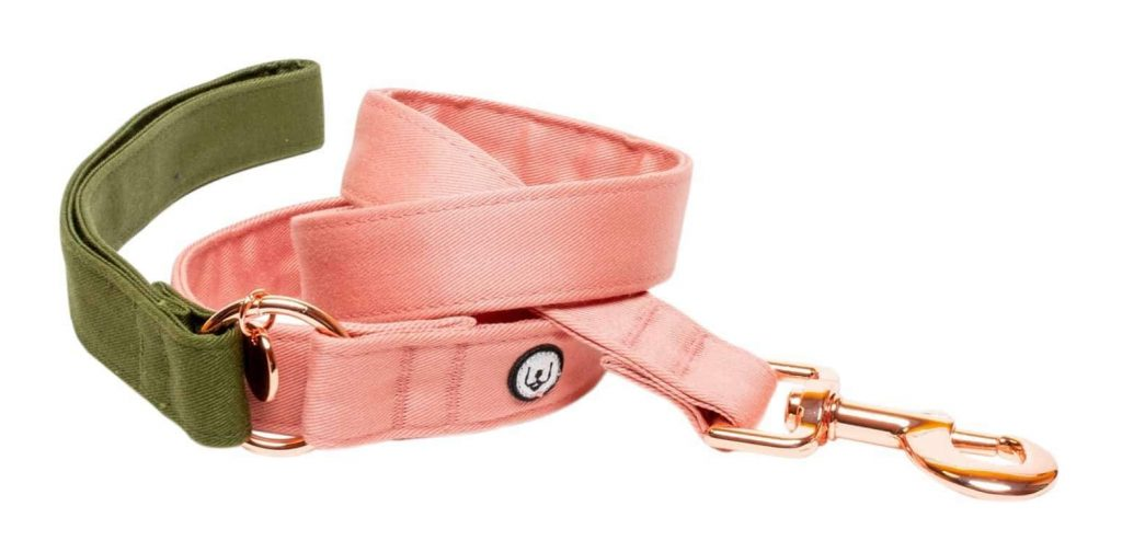 ROUND-UP: Peach Dog Accessories feat. Peach Pink Olive Leash from Eat Play Wag (Design Milk)