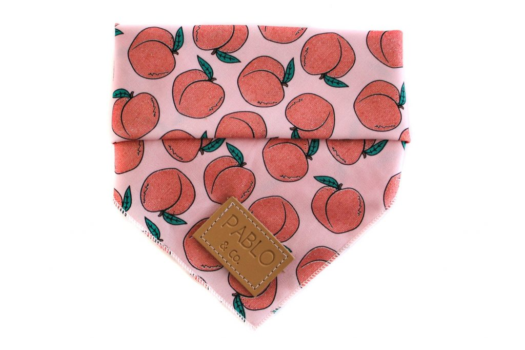ROUND-UP: Peach Dog Accessories feat. Peach Bandana from Pablo and Co Boutique (Etsy)