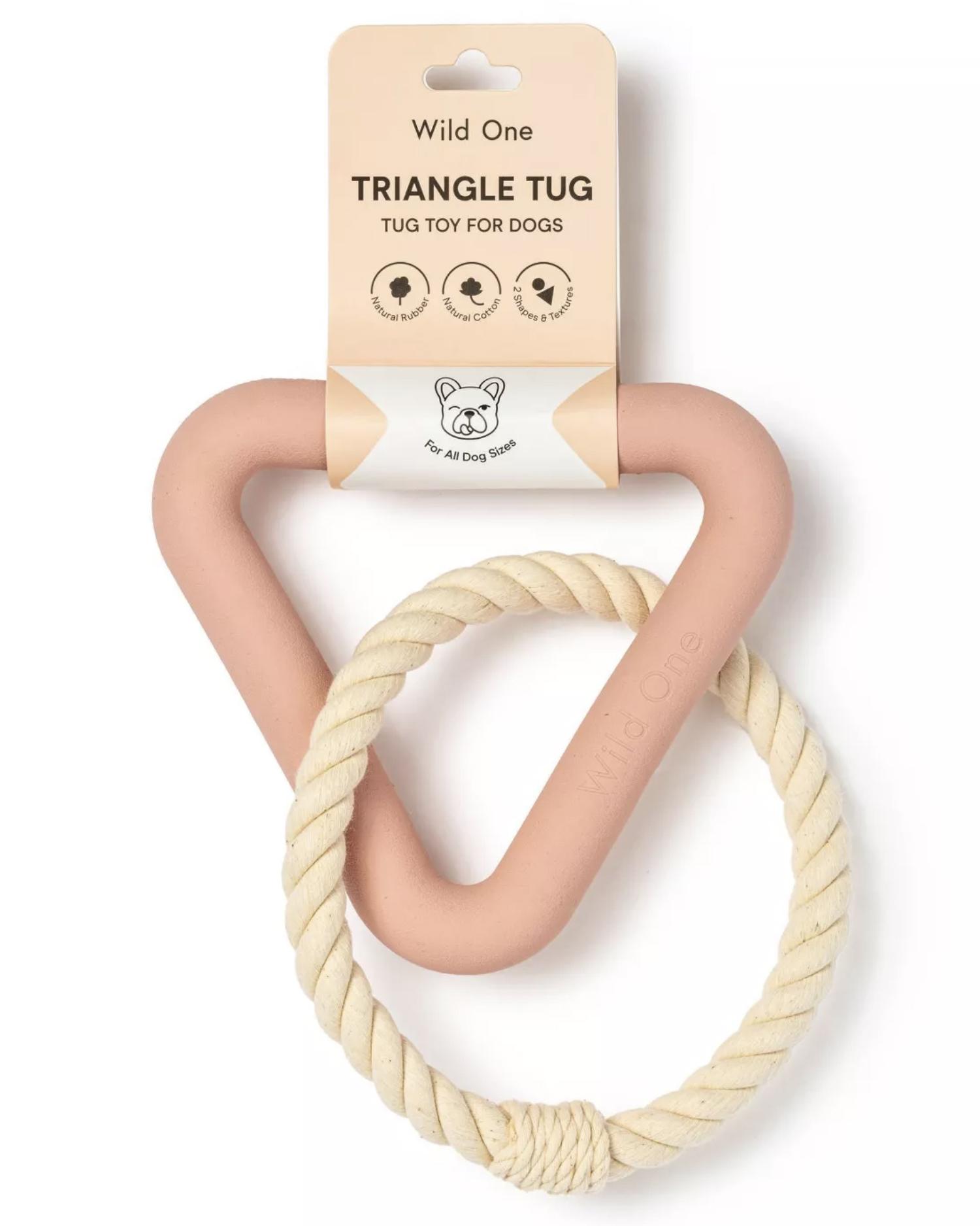 Wild One Triangle Tug Toy (via Target)