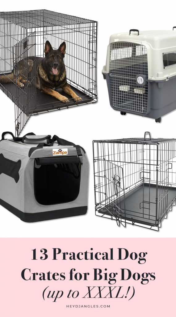 13 Practical Dog Crates for Big Dogs (up to XXXL)