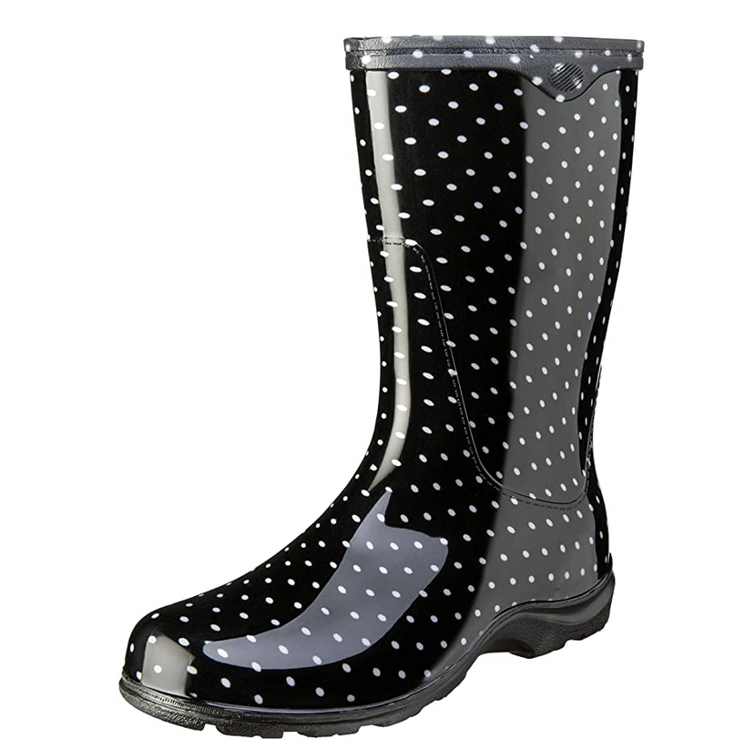 Sloggers Women's Waterproof Rain Boot with Comfort Insole via Amazon