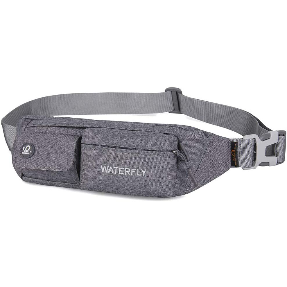 Fanny packs for dog walking feat. WATERFLY Slim Fanny Pack (via Amazon)