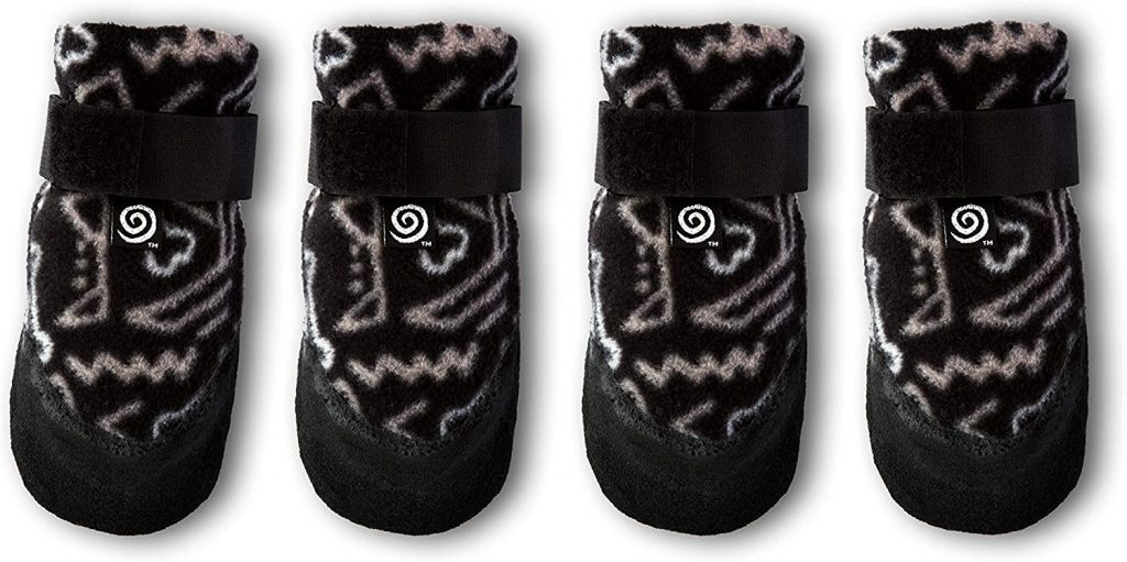 ULTRA PAWS Cozy Paws Traction Dog Boots via Amazon, non slip dog booties for indoors