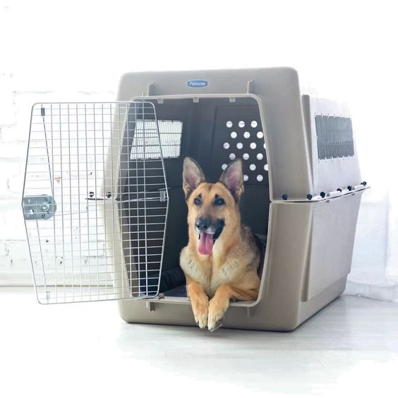Donna Vari-Kennel Pet Crate - Archie & Oscar, via Wayfair - dog crates for big dogs.