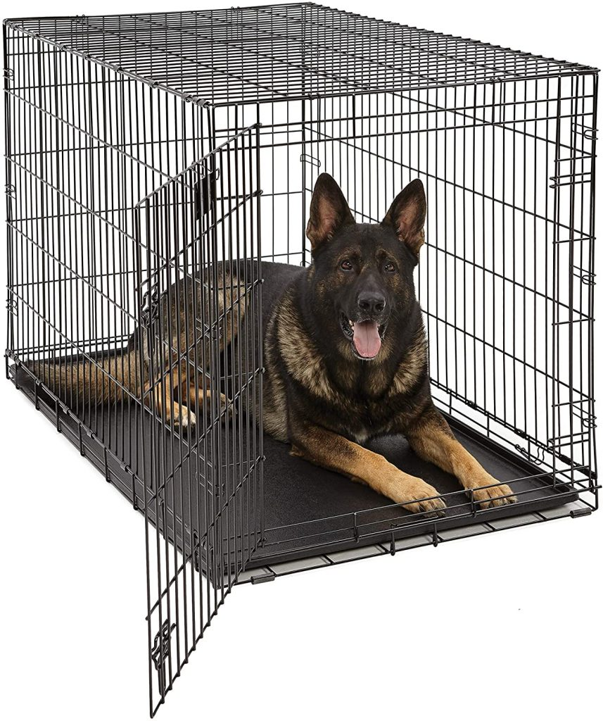 Life Stages Folding Dog Crate - MidWest Homes for Pets via Amazon - dog crates for big dogs.