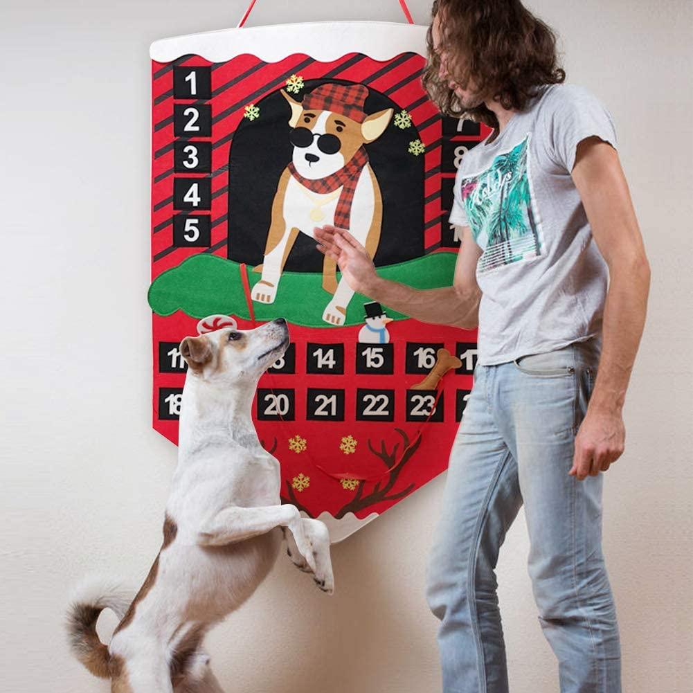 16 Super Cute Dog Advent Calendars for 2020 feat. 'O-heart Dog Advent Calendar' (via Amazon)