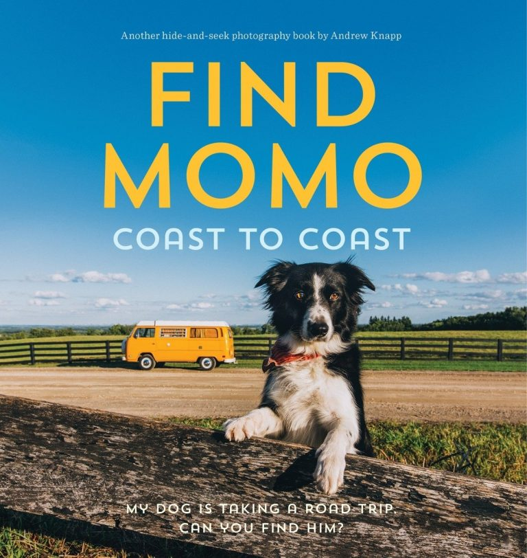 'Find Momo Coast to Coast' by Andrew Knapp - Dog Coffee Table Books