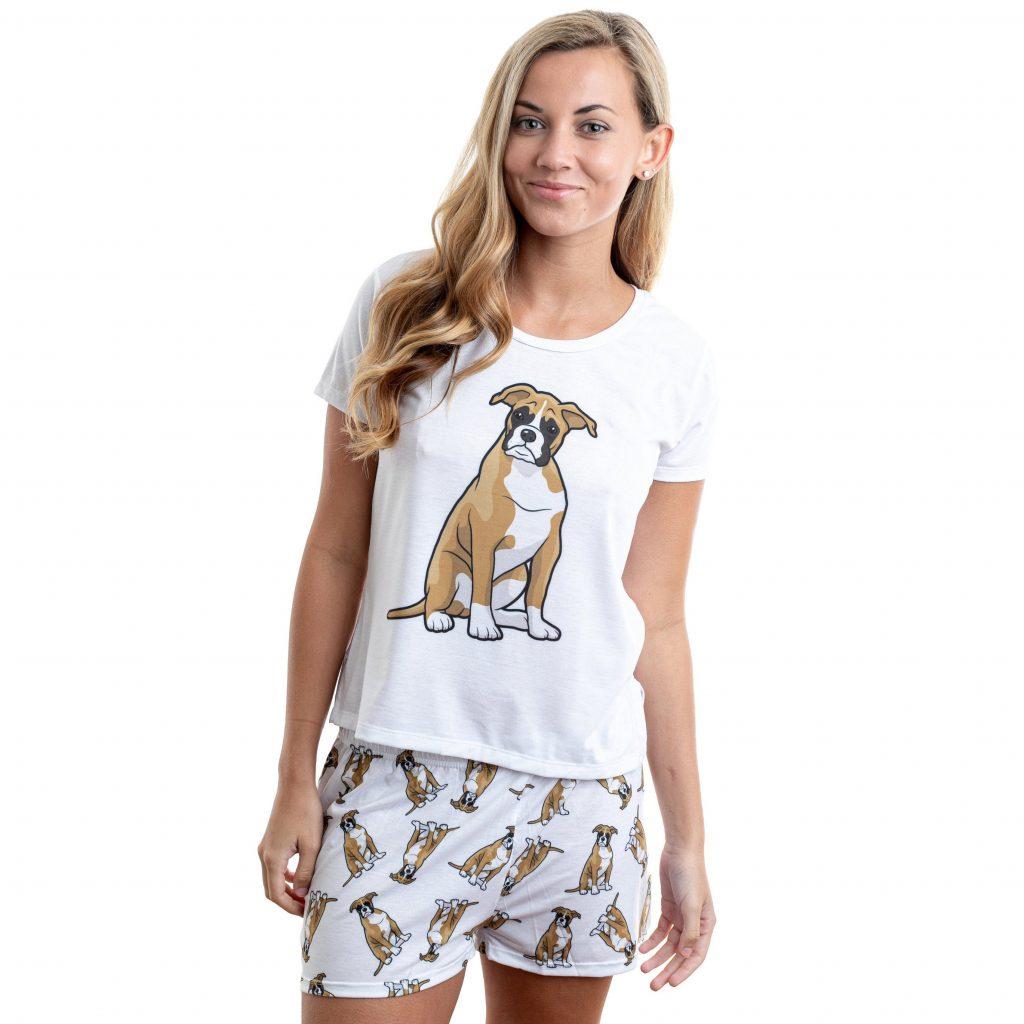 Boxer Dog Pajamas via FurofLove on Etsy