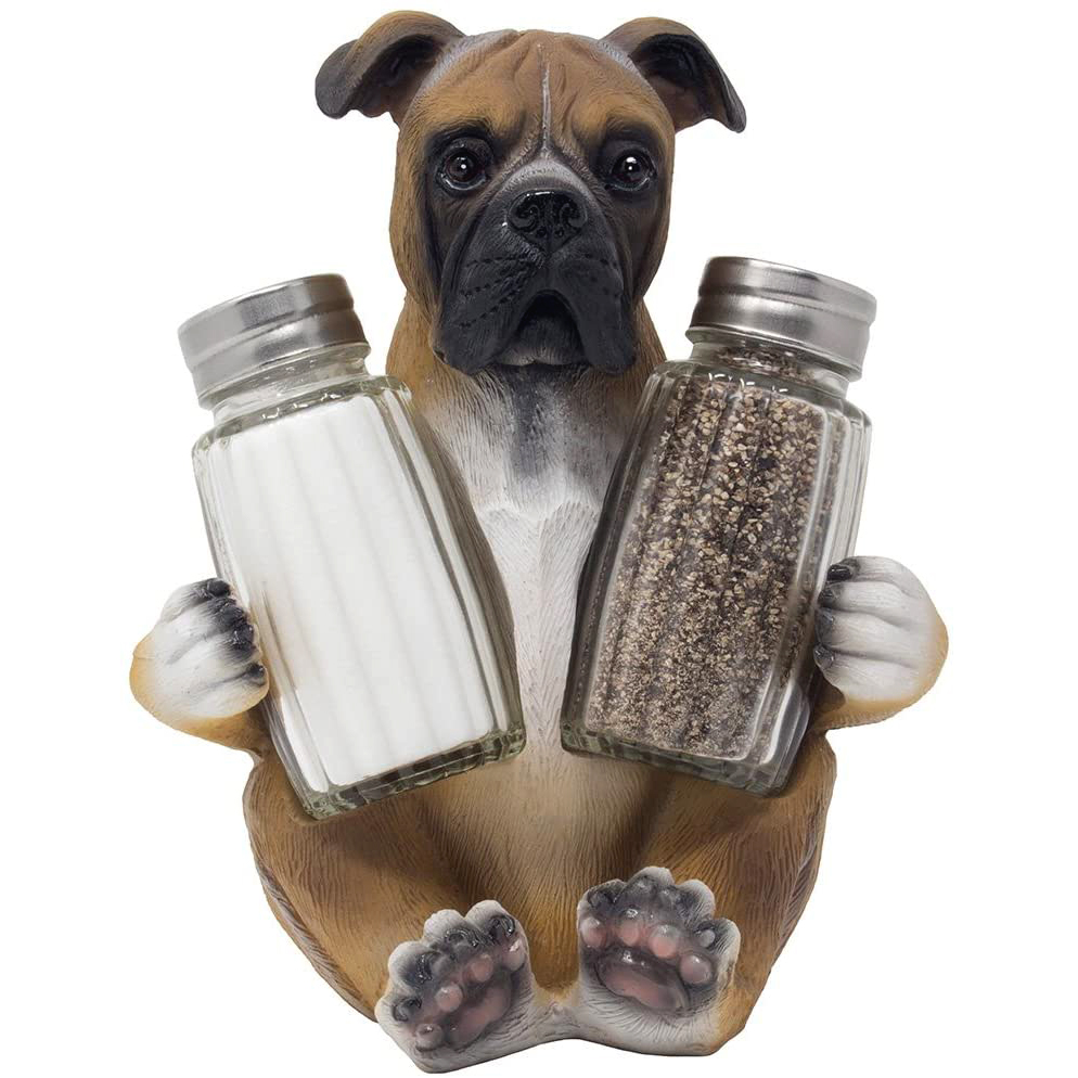 Boxer Salt and Pepper Shaker Set via Amazon