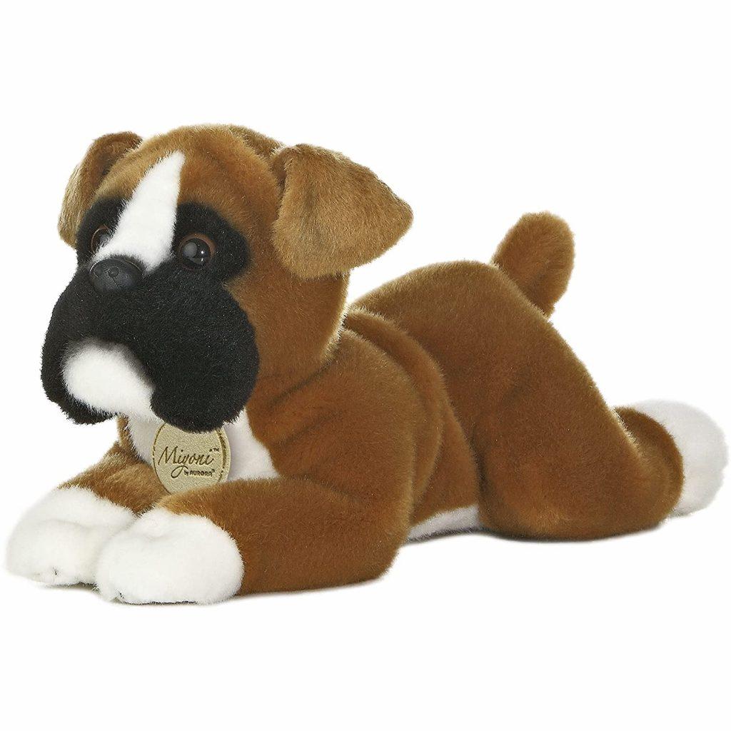 Boxer Stuffed Toy via Amazon
