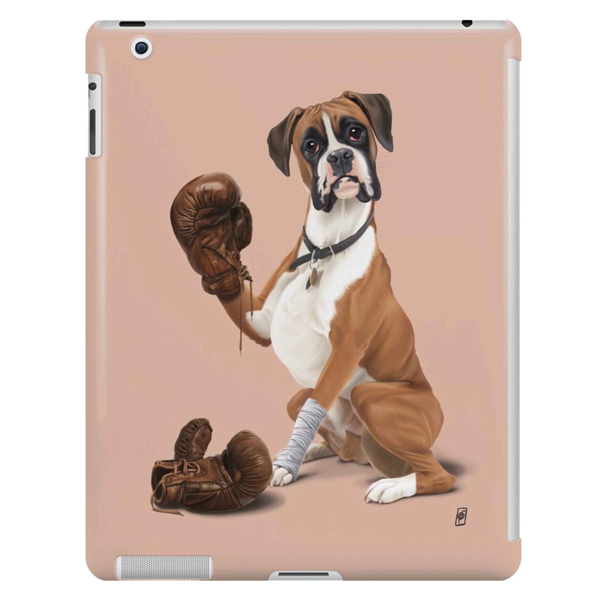 Boxer Dog iPad Snap Case via Redbubble