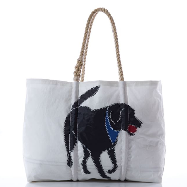 Black Lab Tote Bag via Pottery Barn