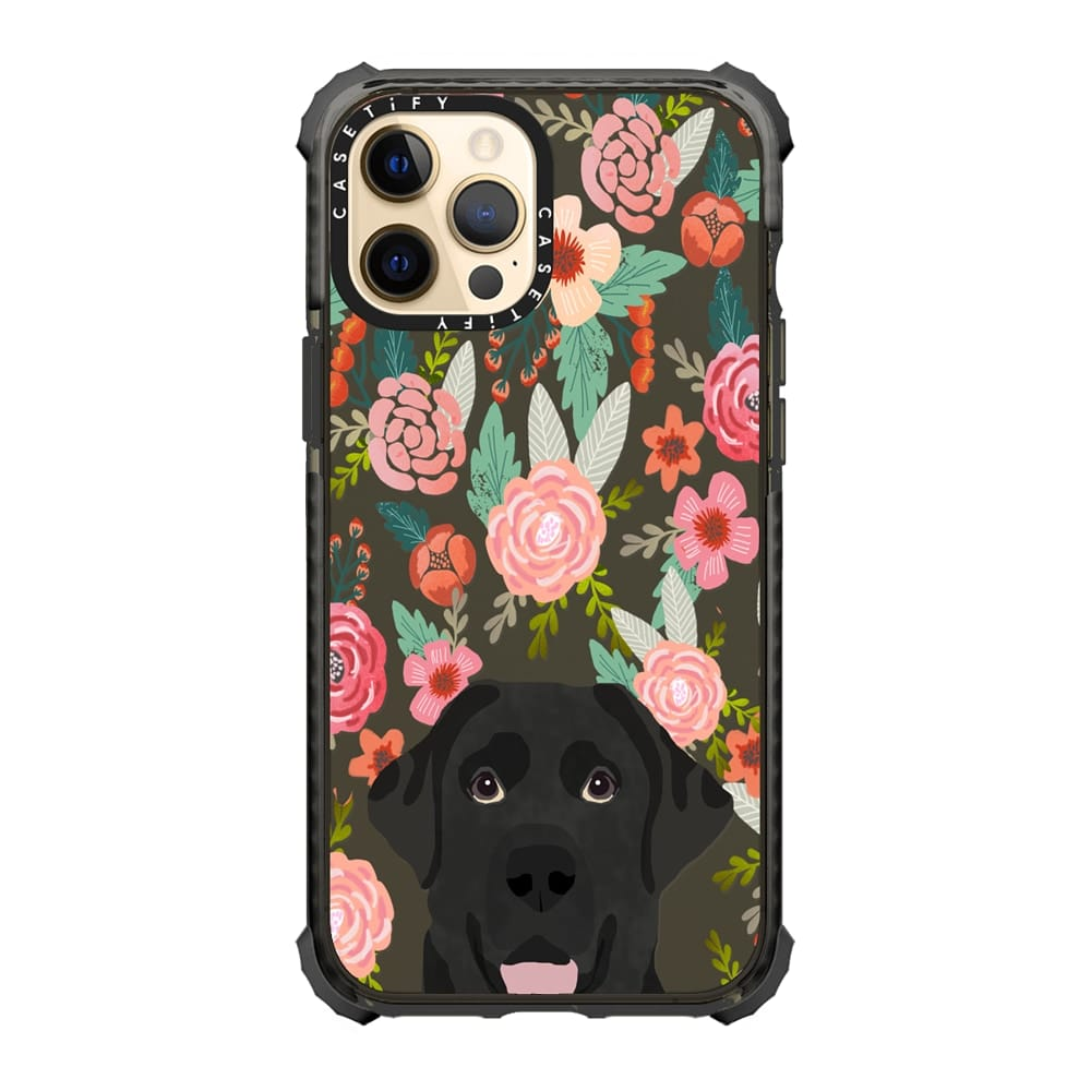 Black Labrador Phone Case via Casetify