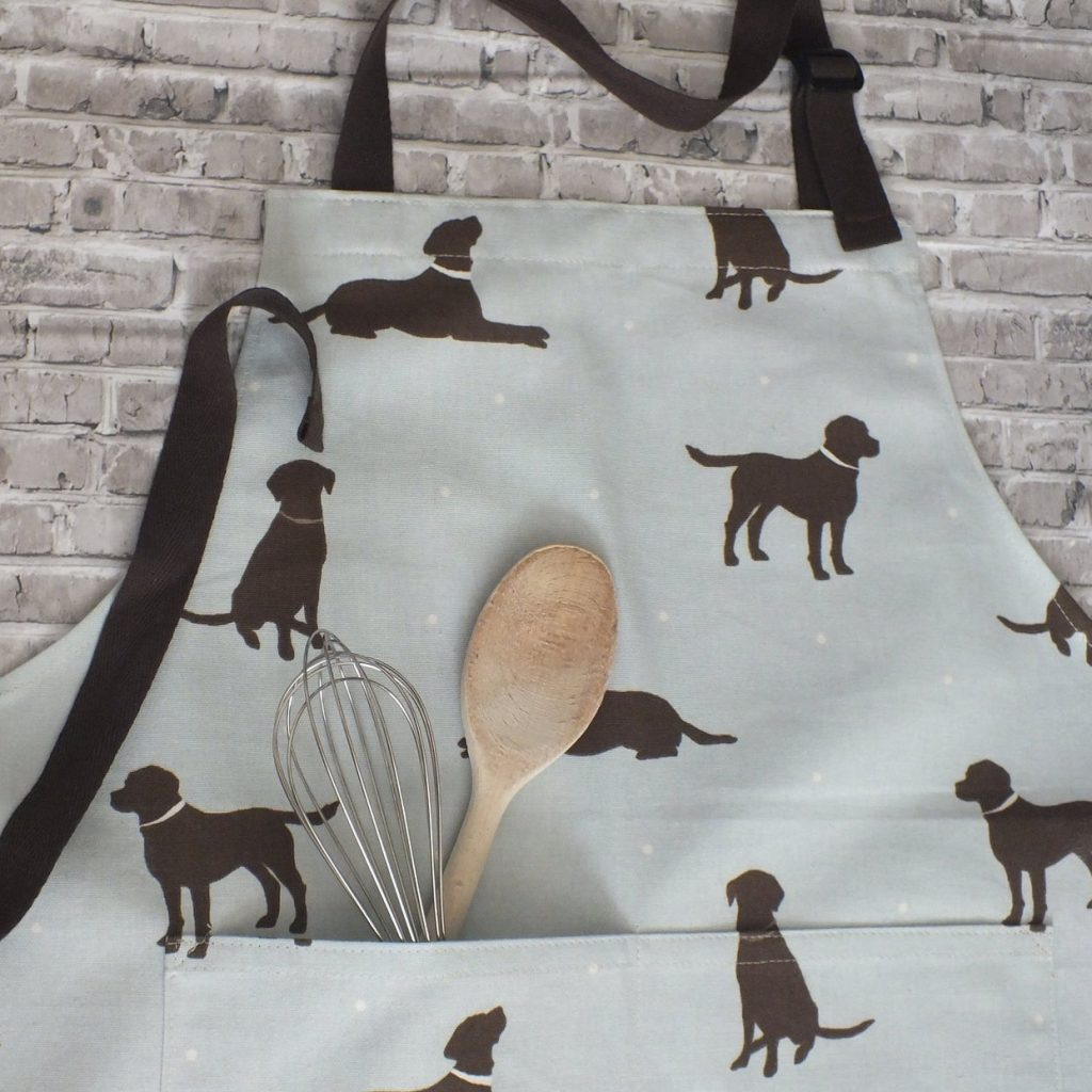Chocolate Labrador Apron via Etsy