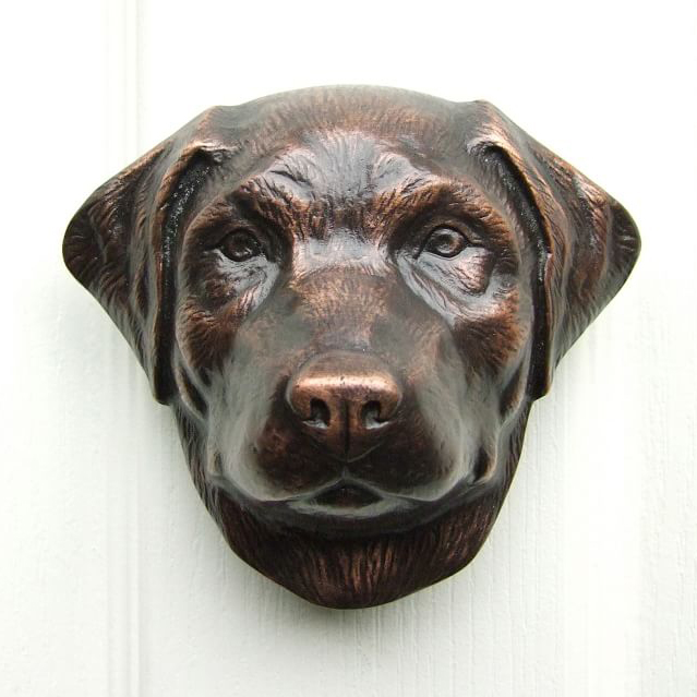 Labrador Door Knocker via Pottery Barn