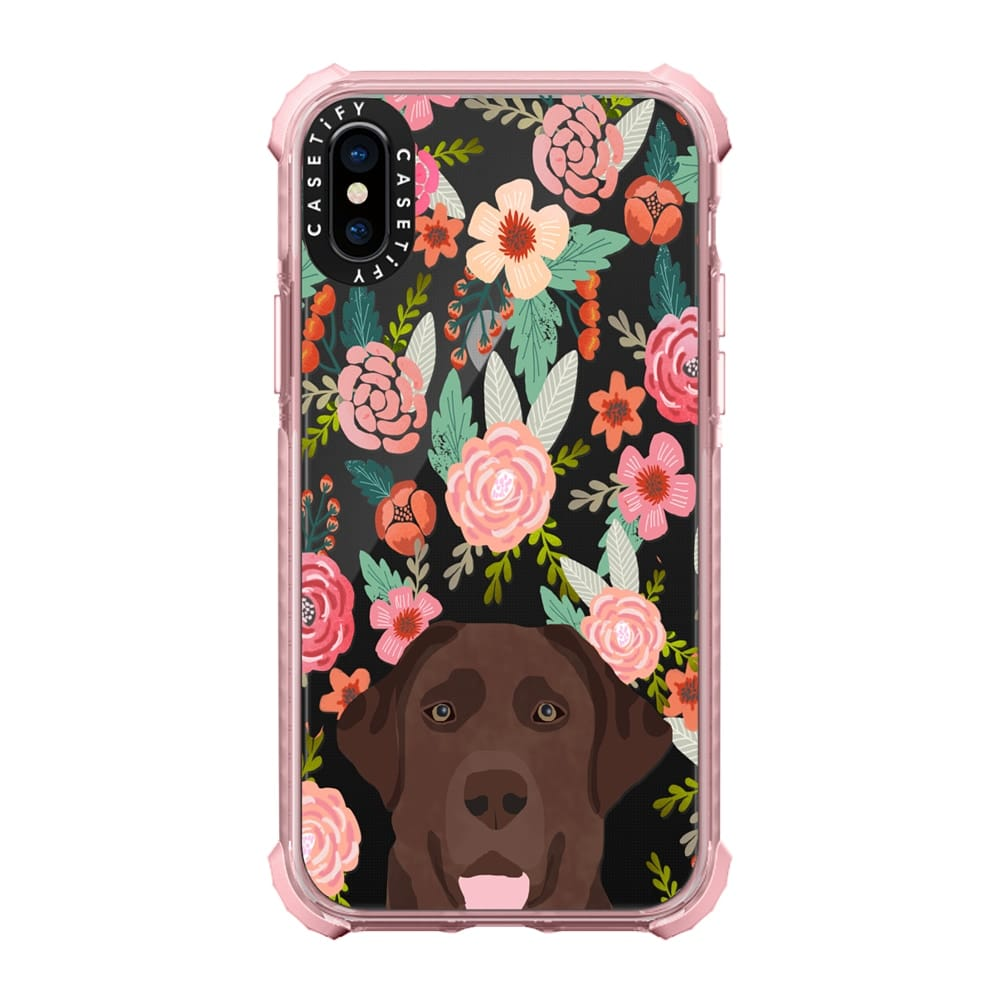 Chocolate Lab Phone Case via Casetify