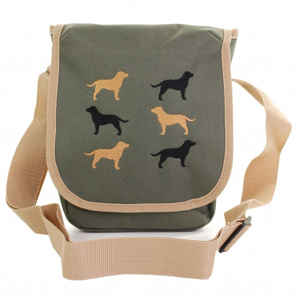 Labrador Cross Body Bag via Etsy