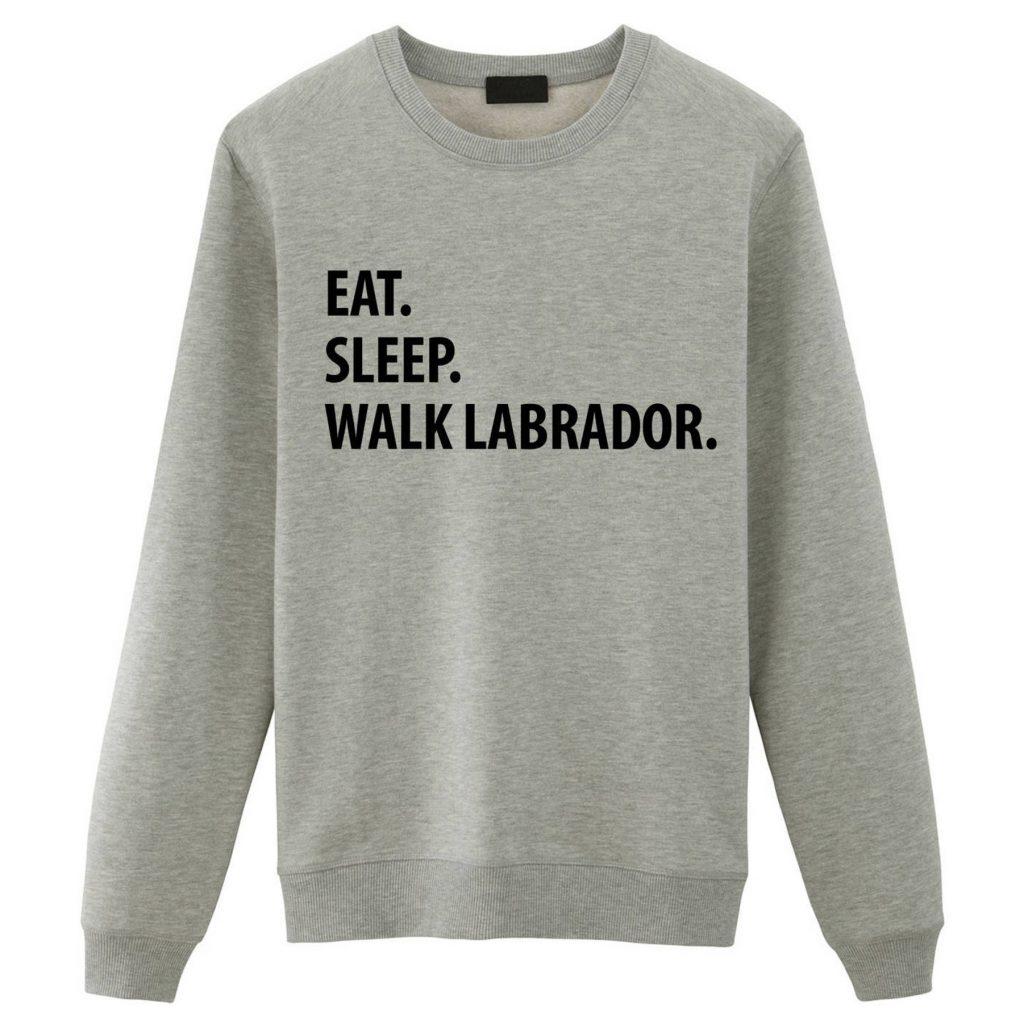 Funny Labrador Sweatshirt via Etsy