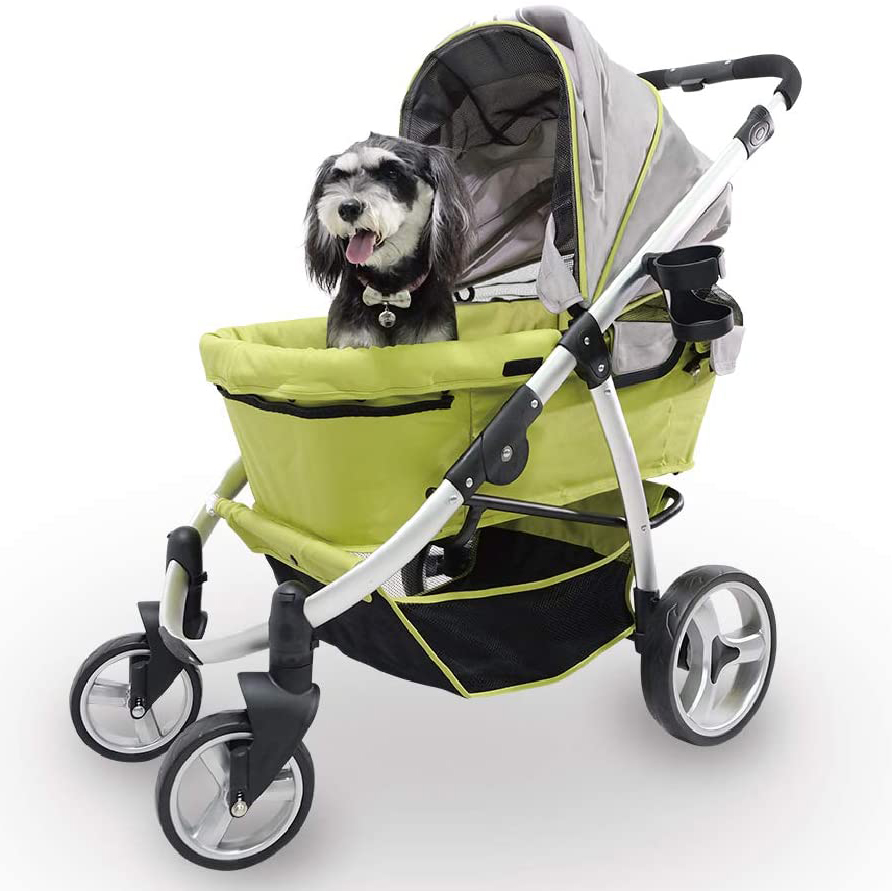Ibiyaya Elegant Retro I Pet Stroller via Amazon