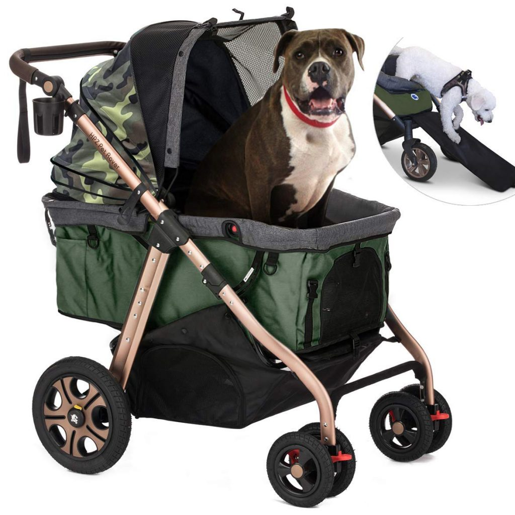 HPZ Pet Rover Titan-HD Premium Super-Sized Pet Stroller via Amazon