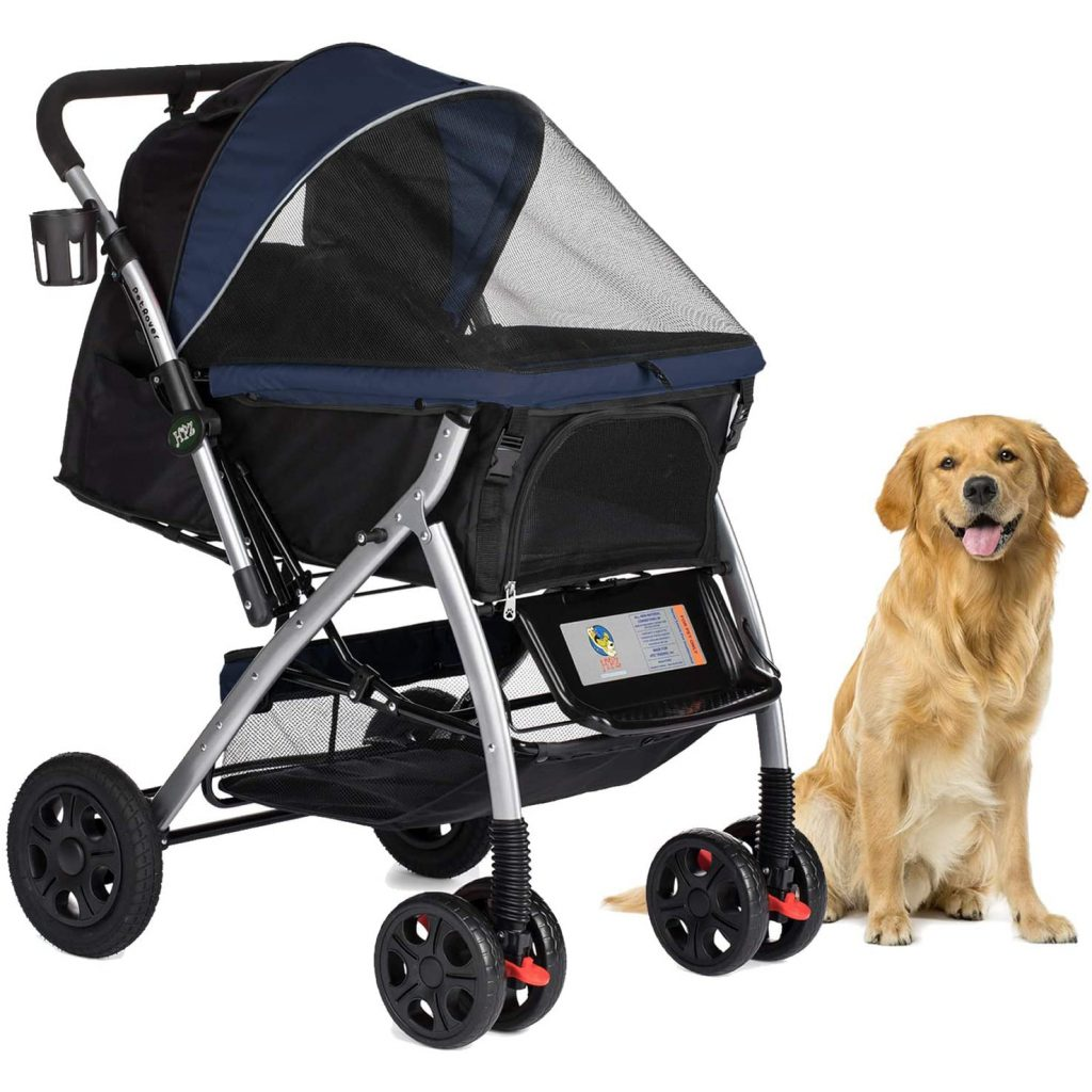 HPZ Pet Rover Premium Pet Stroller via Amazon