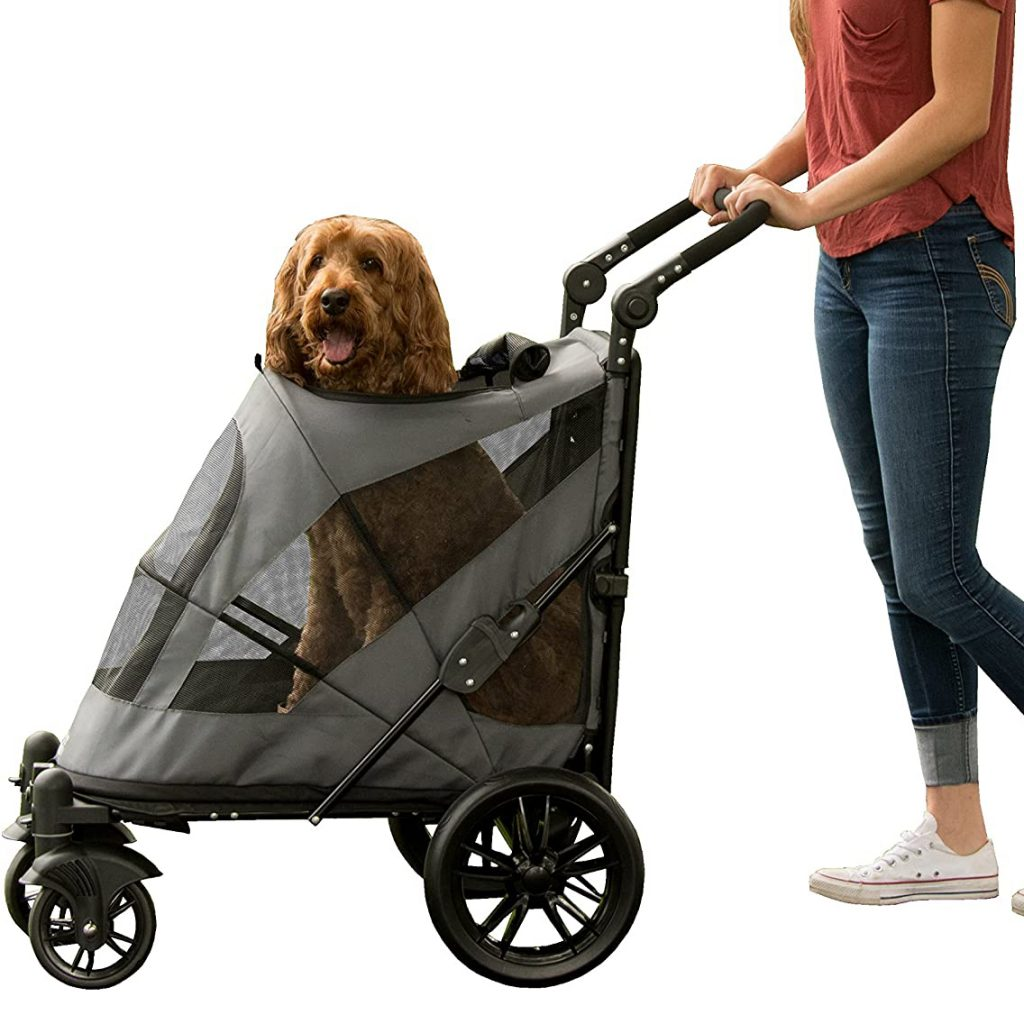 Pet Gear No-Zip Excursion Stroller via Amazon