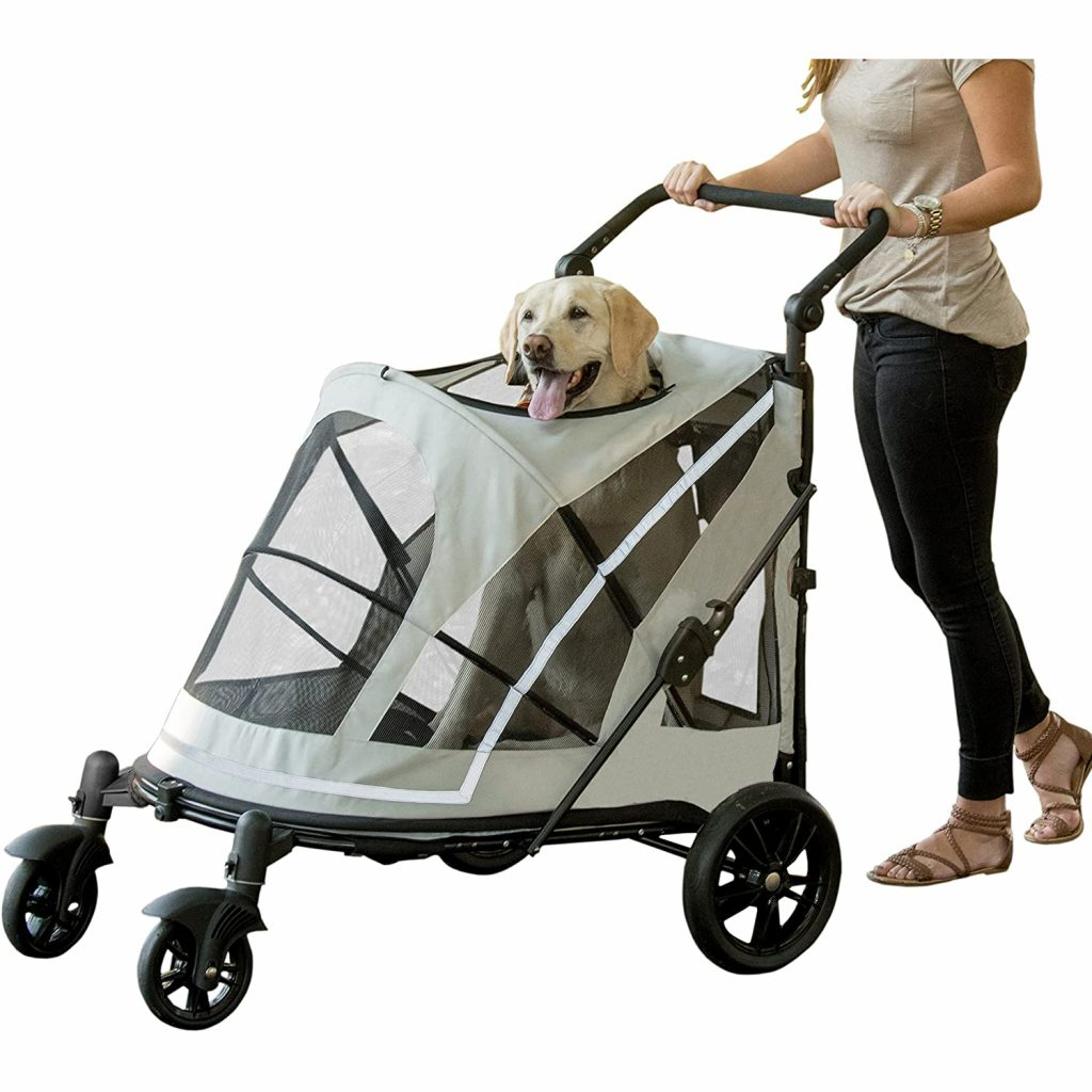 Pet Gear No-Zip Expedition Stroller via Amazon