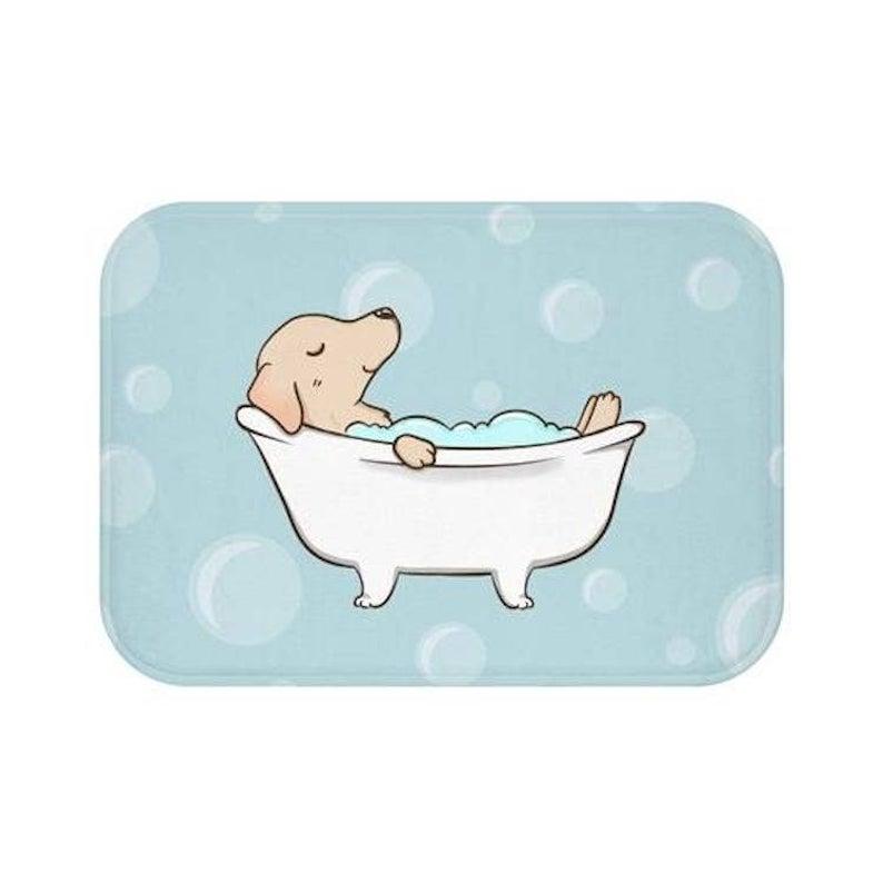 Labrador Bath Mat via Etsy