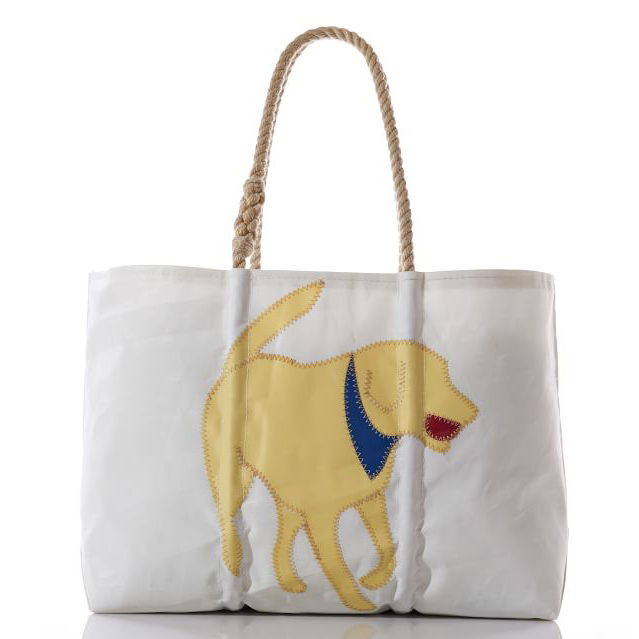 Yellow Lab Tote via Pottery Barn