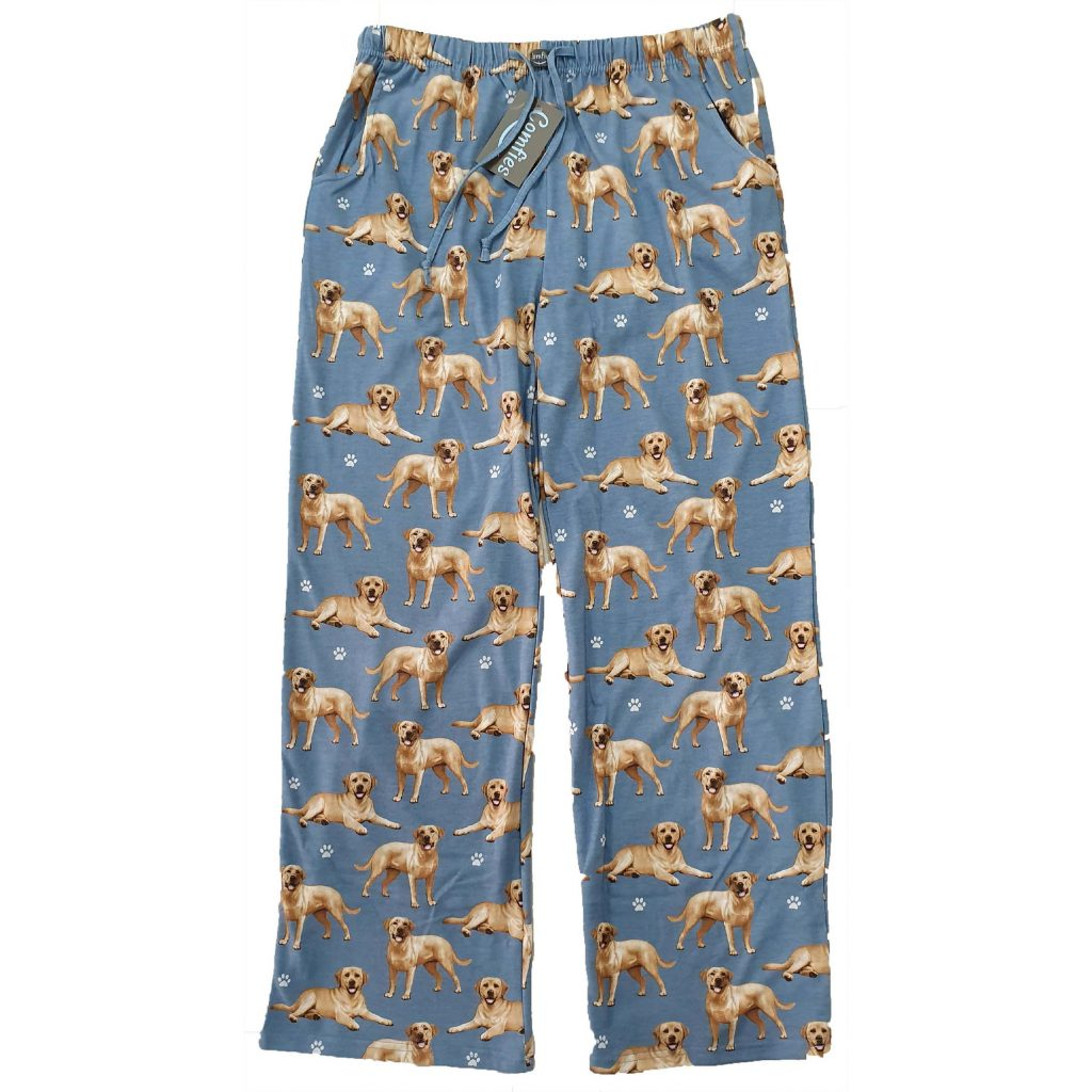 Yellow Labrador PJ Bottoms via Etsy, Labrador Themed GIfts