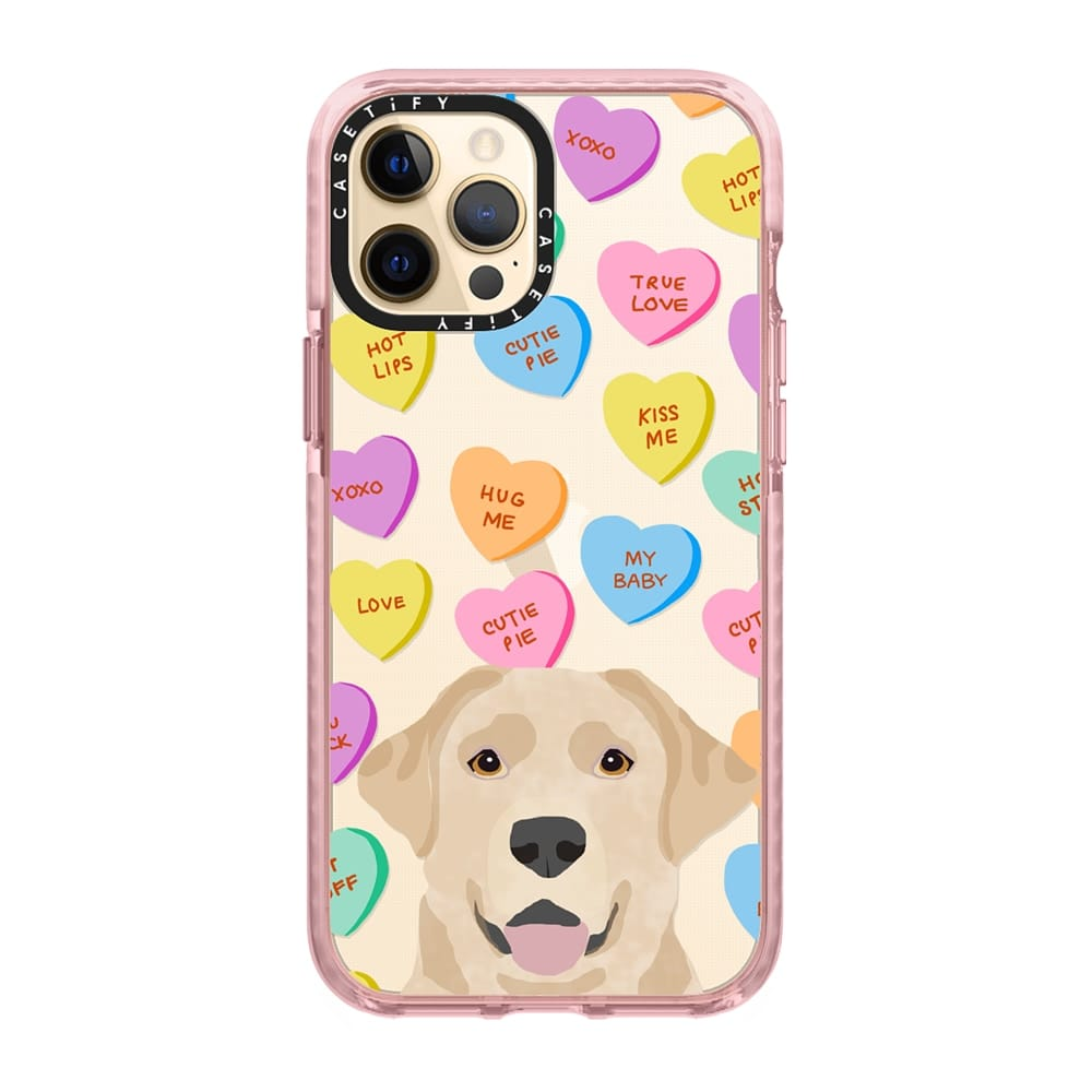 Yellow Lab Phone Case via Casetify