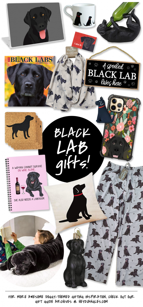 80+ Cute Labrador Themed Gifts for the Lab Lover in Your Life - Black Lab gifts, dog lover gift ideas.
