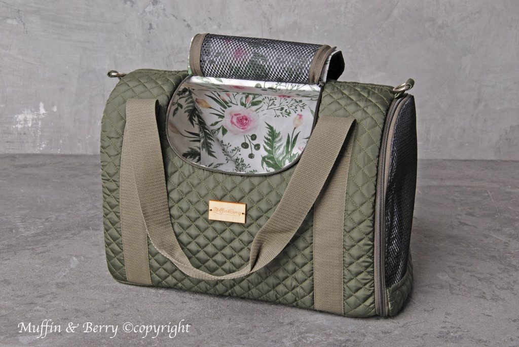 Muffin and Berry (Etsy) 'Eleanor' Pet Carrier