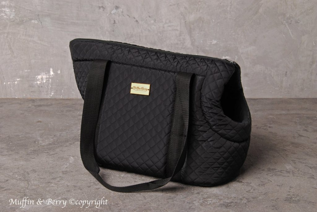 20+ Discreet Dog Purse Carrier Options For Stylish Pups - feat. Muffin and Berry (Etsy) 'Rocco' Pet Carrier in Black